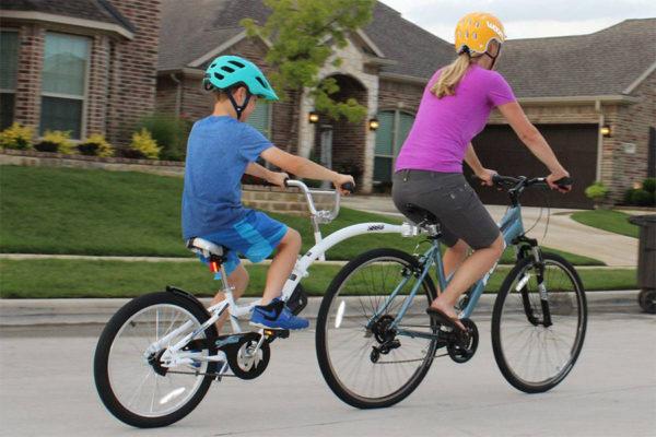 WeeRide Co-Pilot, la bicicleta remolque ideal para niños